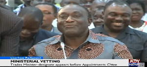Alan Kyerematen is Minister-designate for Trade and Industry