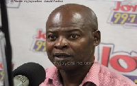 Chairperson of the Civil Society Platform on Oil and Gas (CSPOG), Dr Steve Manteaw