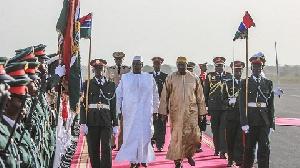 Macky Sall Adama Barrow Meet