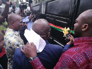 Isaac Asiamah has handed over the permanent residence of the Black Stars Coach to Kwesi Appiah