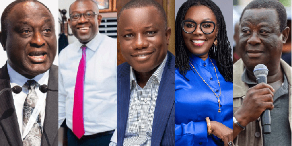Akufo-Addo swears in the first batch of Ministers