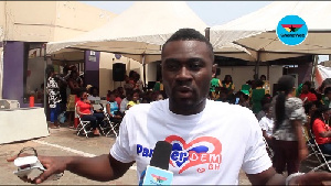 Mic Gizo, leader of the group  PamperDem GH