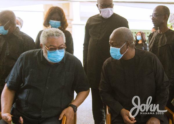 Full text: Mahama's tribute to Rawlings