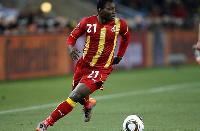 Kwadwo Asamoah, Juventus midfielder