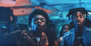 LeFlyyy and Danny Beatz in 'Flavor' video