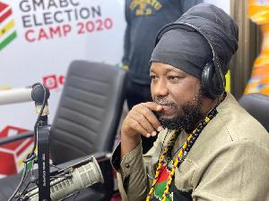 Ghanaian Reggae Musician and Radio Presenter Blakk Rasta