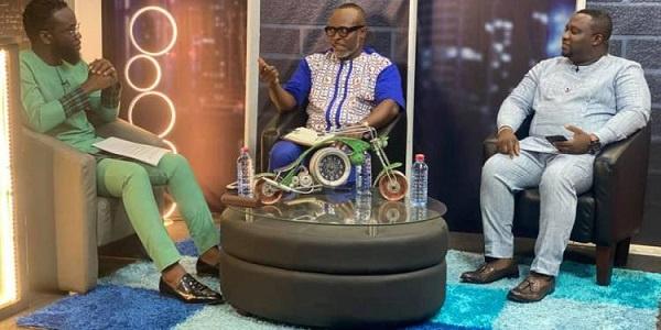 He revealed this on e.TV Ghana's Men's Lounge show