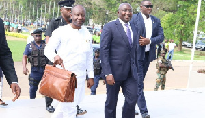Ken Ofori Atta In Parliament 750x430