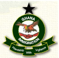 File photo Ghana Immigration Service (GIS) logo