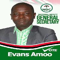 Evans Amoo, NDC aspiring Deputy General Secretary