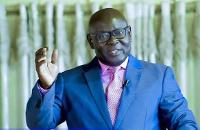 Rev. Dominic Owusu, Head Pastor for Calvary Temple Assemblies of God Church at Bantama