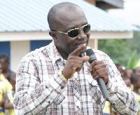 Edward Ennin, Member of Parliament for Obuasi East