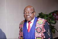 Speaker of Parliament, Mike Oquaye