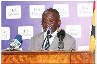 Edward Dua Agyemang, Former Auditor General