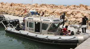 Some Migrants Were Rescued By The Tunisian Navy