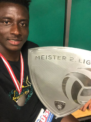 Ghanaian midfielder Reuben Acquah
