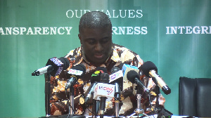 Deputy Chairman of the Electoral Commission, Dr. Eric Bossman Asare