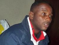 Former Ghana goalie Ali Jarrah