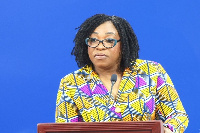 Minister for Foreign Affairs, Shirley Ayorkor Botchwey