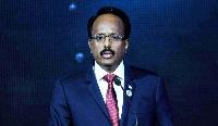 Somalia's President Mohamed Abdullahi Mohamed Farmaajo