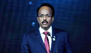 Somali President, Mohamed Farmaajo