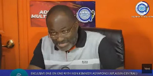 Kennedy Agyapong says the real killer of Ahmed Suale lives in the Ashanti region