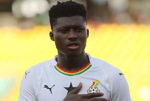 Black Stars midfielder, Joseph Alfred Duncan