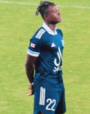 Inkoom excelled in his team's draw with FC Dila Gori