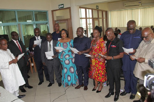 The Board Members were tasked to work without fear of favour