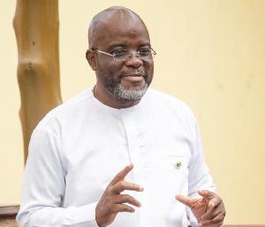 Disqualified Ghana FA presidential aspirant, Wilfred Kweku Osei