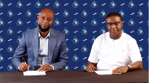 Finidi George (left) is the latest former footballer to enter coaching