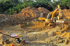 Illegal Mining Ghana