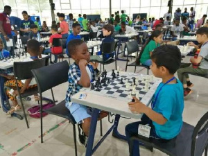 Some participants at 2019 National Youth Chess Championships