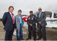 t: Mario Fulgoni - CEO of Air Djibouti, Bruce Dickinson – Chairman of Cardiff Aviation and others