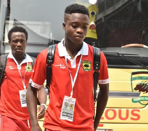 Barca are reportedly interested in Anim Cudjoe