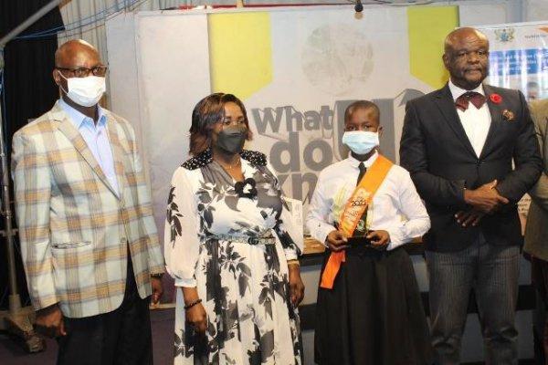 Naziru Mawadatu wins second edition of School Sanitation Solutions Challenge