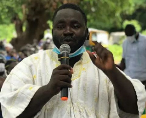 Abdulai Habib Abiola, One of the finalists in the MMDCEs race for the East Gonja Municipal Assembly