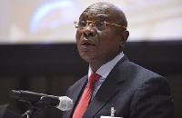 Former Speaker of Parliament, Edward Doe Adjaho