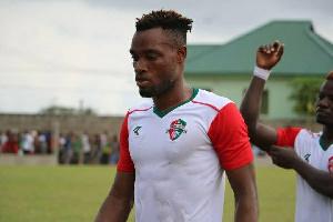 The 22-year-old midfielder, Emmanuel Keyekeh