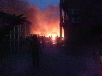 Spintex fire