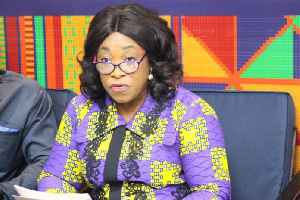 Foreign Affairs Minister, Shirley Ayorkor Botchway