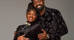 Nigerian Comedian Basketmouth and his wife Elsie Okpocha