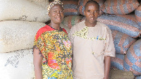 The women are now using PICS bags to store their grains and seeds.