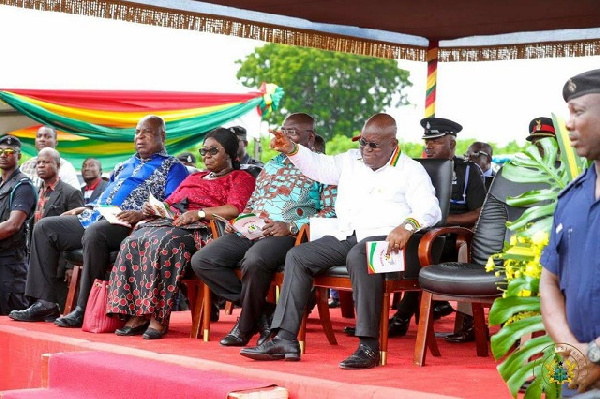 President Nana Akufo-Addo officially launched the Free SHS on September 12, 2017