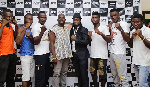 Ghanaian Martial Artists with members of D-Nyce Productions