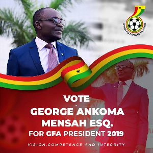 GFA Presidential hopeful,  George Ankoma Mensah