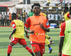 Asante Kotoko defender Empem Dacosta