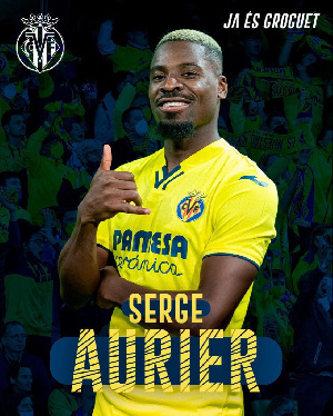 Serge Aurier made his Villarreal debut in Saturday's 2-1 defeat to Athletic Bilbao