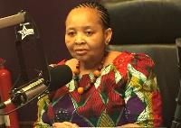 South African High Commissioner to Ghana Lulu Xingwana