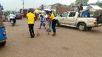 Staff of GRA clean up Bolgatanga Municipality